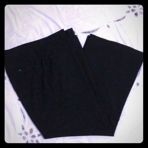 Gap Perfect Trousers 12 ankle length black